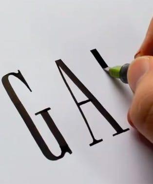fashion-calligraphy