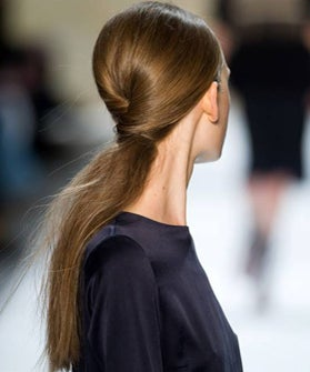 How To Wear A Twisted Ponytail
