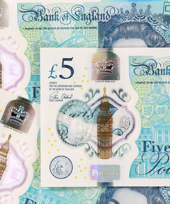 £5 Worth £20,000 Fiver UK New
