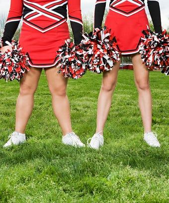 Opener cheerleaders