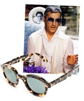 Illesteva Albert Retro Sunglasses