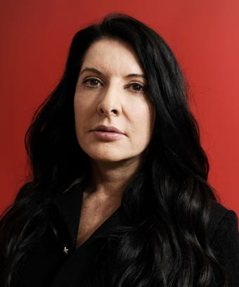 Marina Abramovic Interview New Book Walk Through Walls