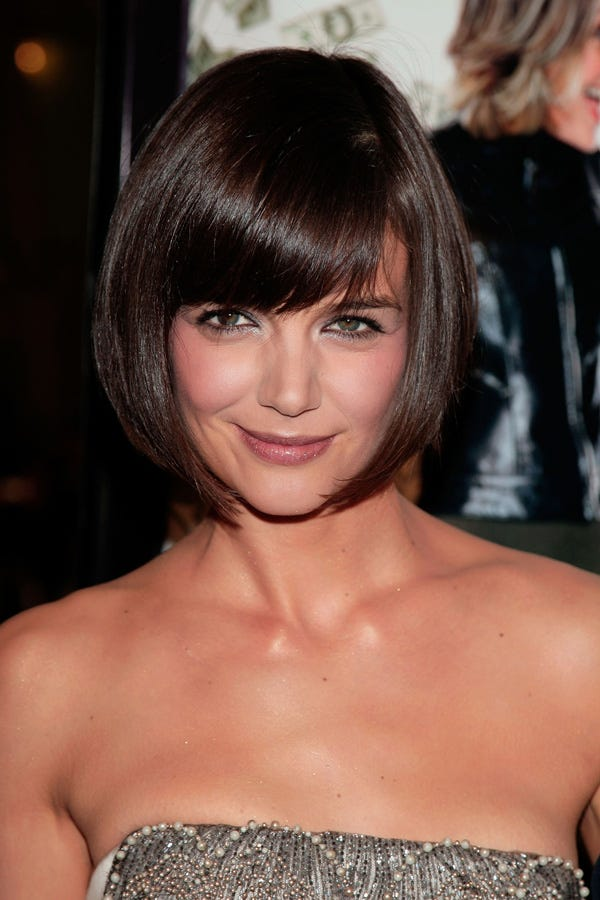Best Celebrity Bangs Hairstyle Photos - Gaya rambut pendek rihanna