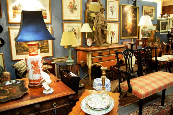Fredericku0027s Emporium Antiques Is The Ultimate Destination For Thrifters Who  Love The Thrill Of The Hunt. Costume Jewelry, Kitschy Decor, Vintage  Secretary ...