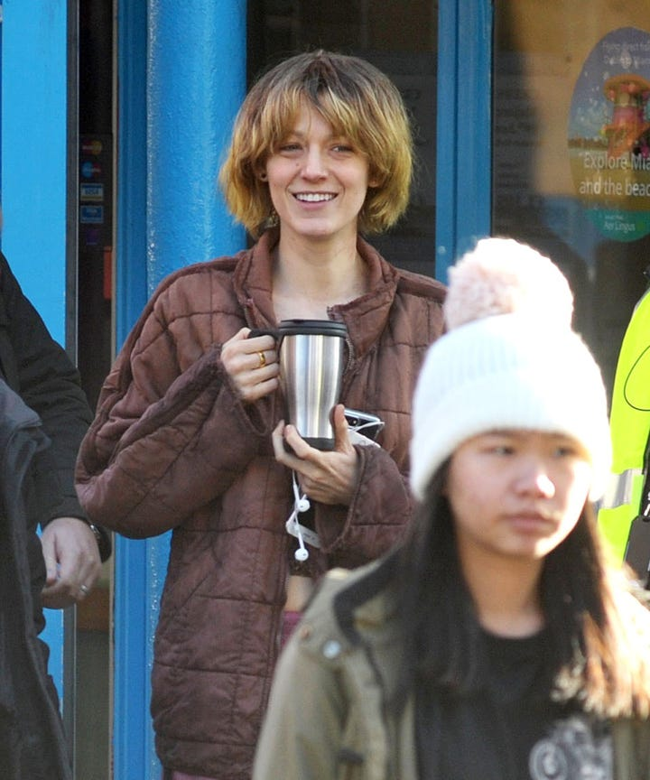 Blake Lively looks unrecognisable filming in Dublin