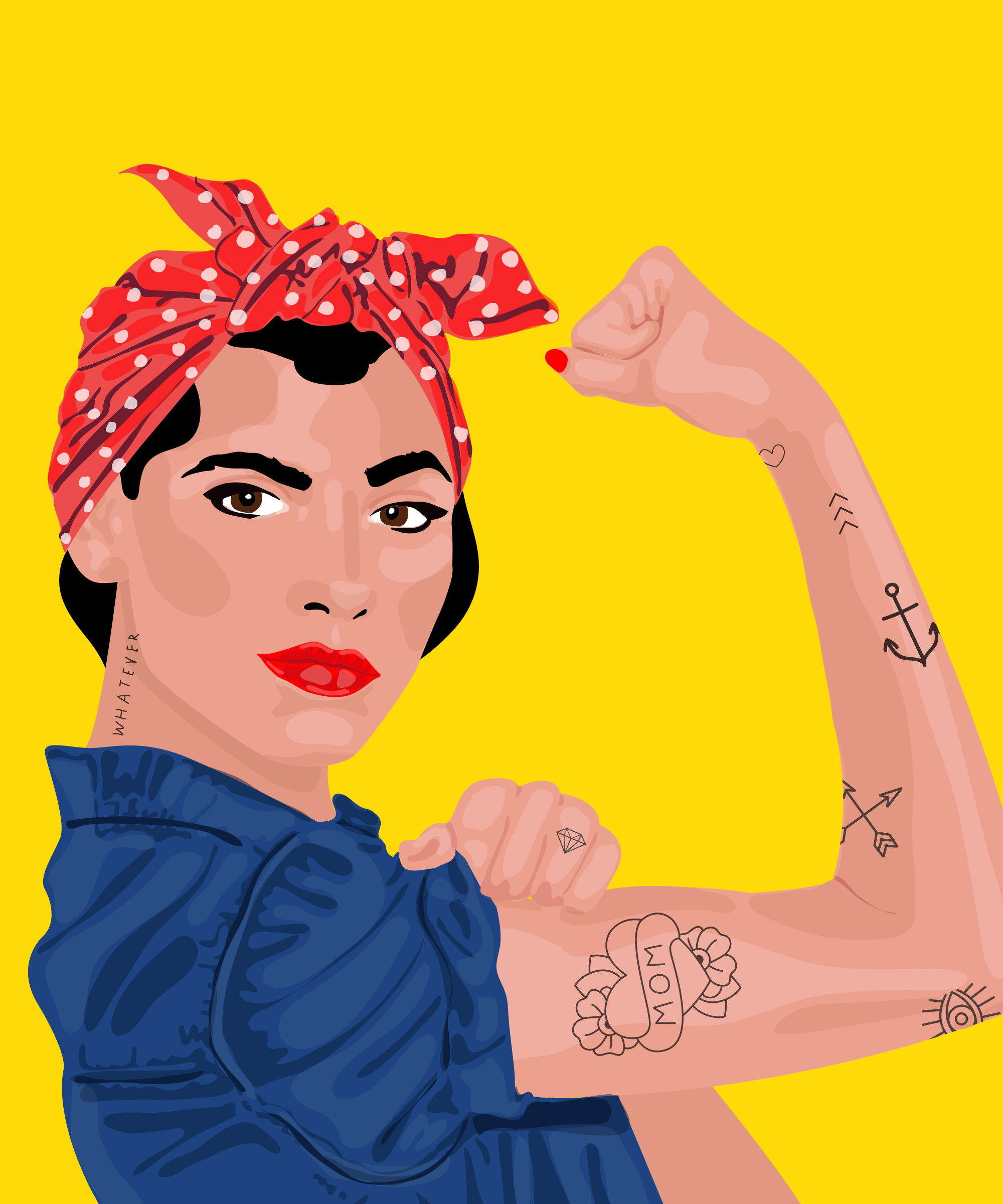 rosie the riveter costume diy halloween photos - Rosie The Riveter Halloween Costume