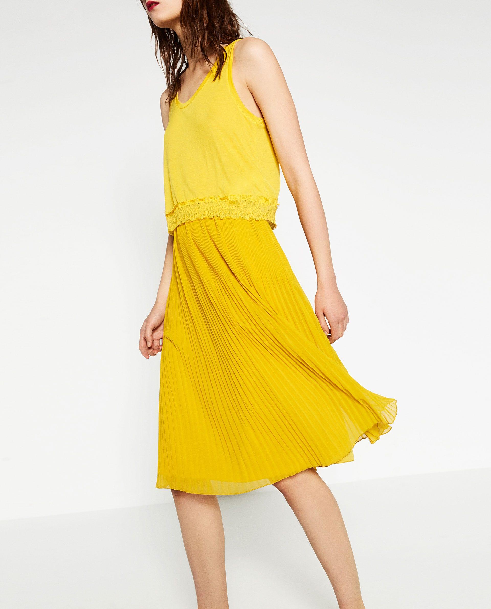 yellow dress zara  us presidential election
