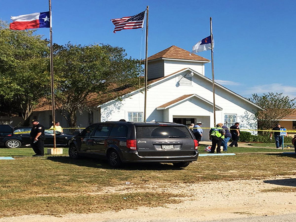 26 Killed In Church Attack In Texas  Deadliest Mass Shooting