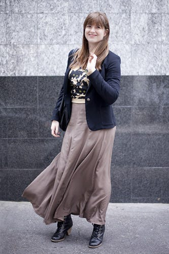 Nyc Street Fashion Intern Style From Refinery29 Describe Your In Three Words Clic Bohemian