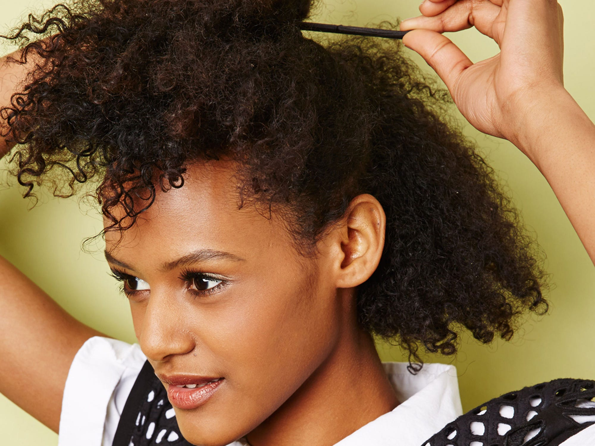 Easy natural hairstyles for transitioning hair urmus Image collections