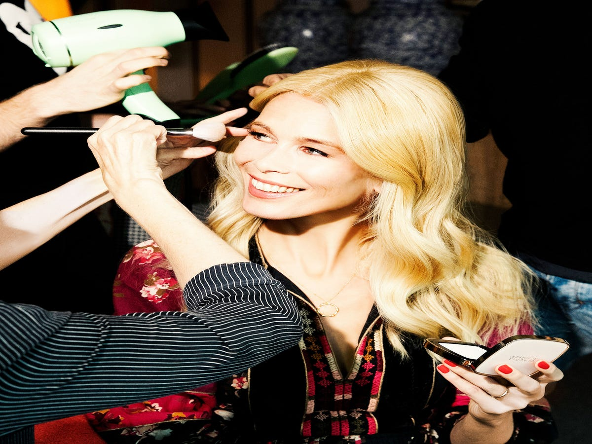 My Week With Claudia Schiffer