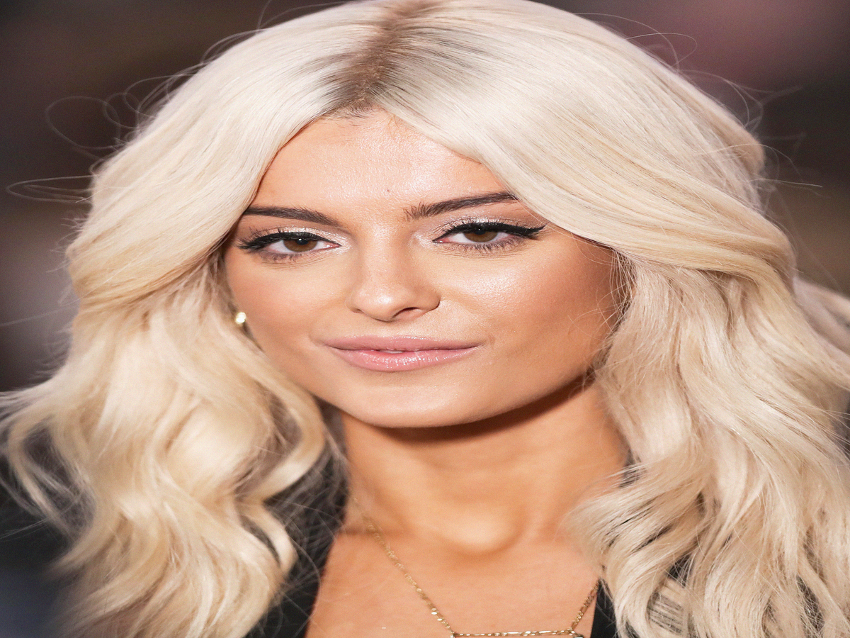 The Secret To Bebe Rexha's Bleached Hair Is NOT What You'd Expect