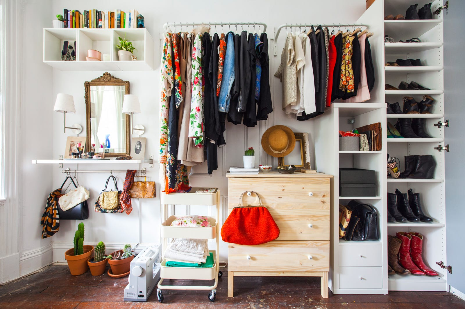Clothes Storage Ideas For Small Spaces Part - 42: Refinery29