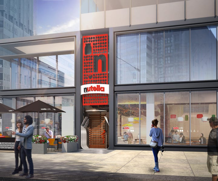 A cafe dedicated to Nutella is coming to Chicago