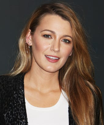 Blake lively hair cut new style trends bob lob chop urmus Image collections