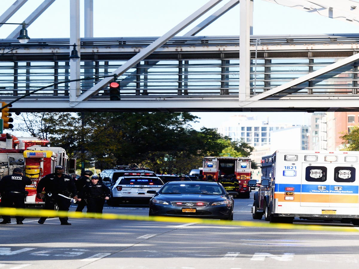 At Least 8 Dead After Truck Driver Mows Down People Near World Trade Center