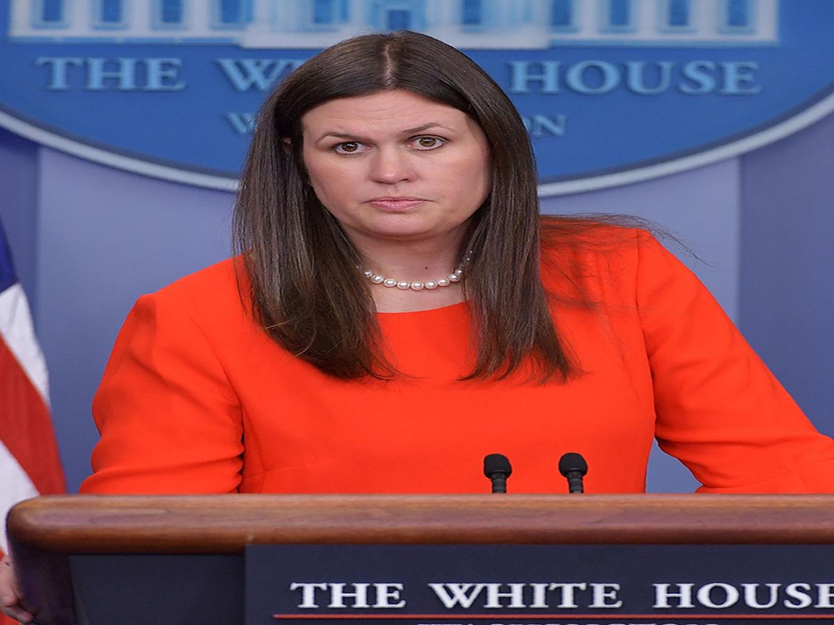 Following Spicer's Resignation, Sarah Huckabee Sanders Is Named Press Secretary
