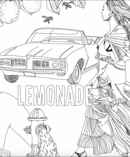 beyonce lemonade coloring book