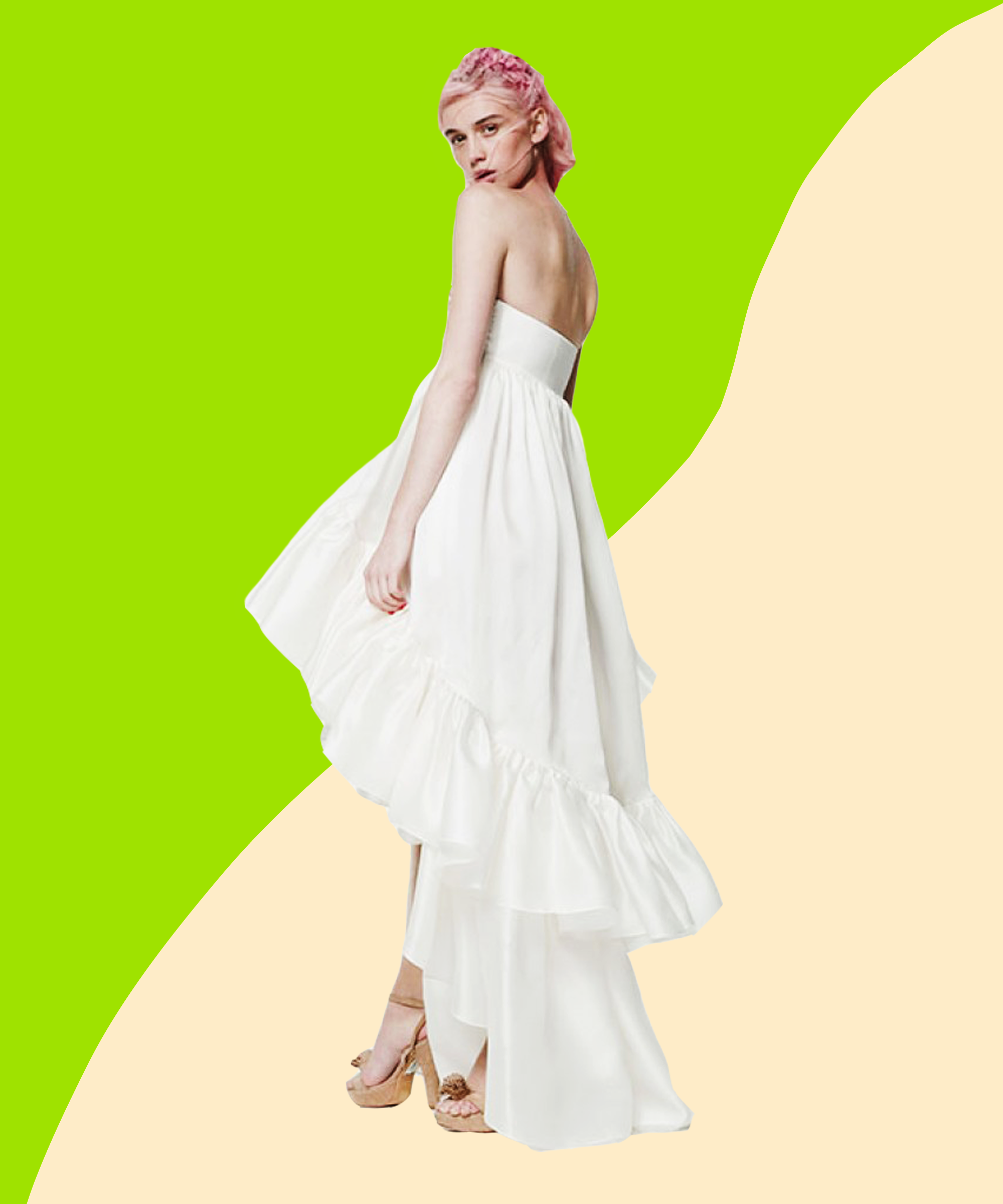 Pretty wedding day looks from indie designers ombrellifo Images