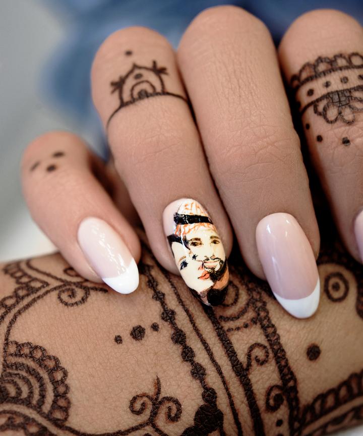Nail art salon dubai muslim women modesty for many muslim women nail art is so much more than a trendy design prinsesfo Image collections