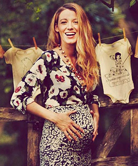 Blake Lively Documents Perfect Autumnal Themed Baby Shower For Preserve
