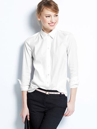 White Button Down Shirts - Best Oxford Tops