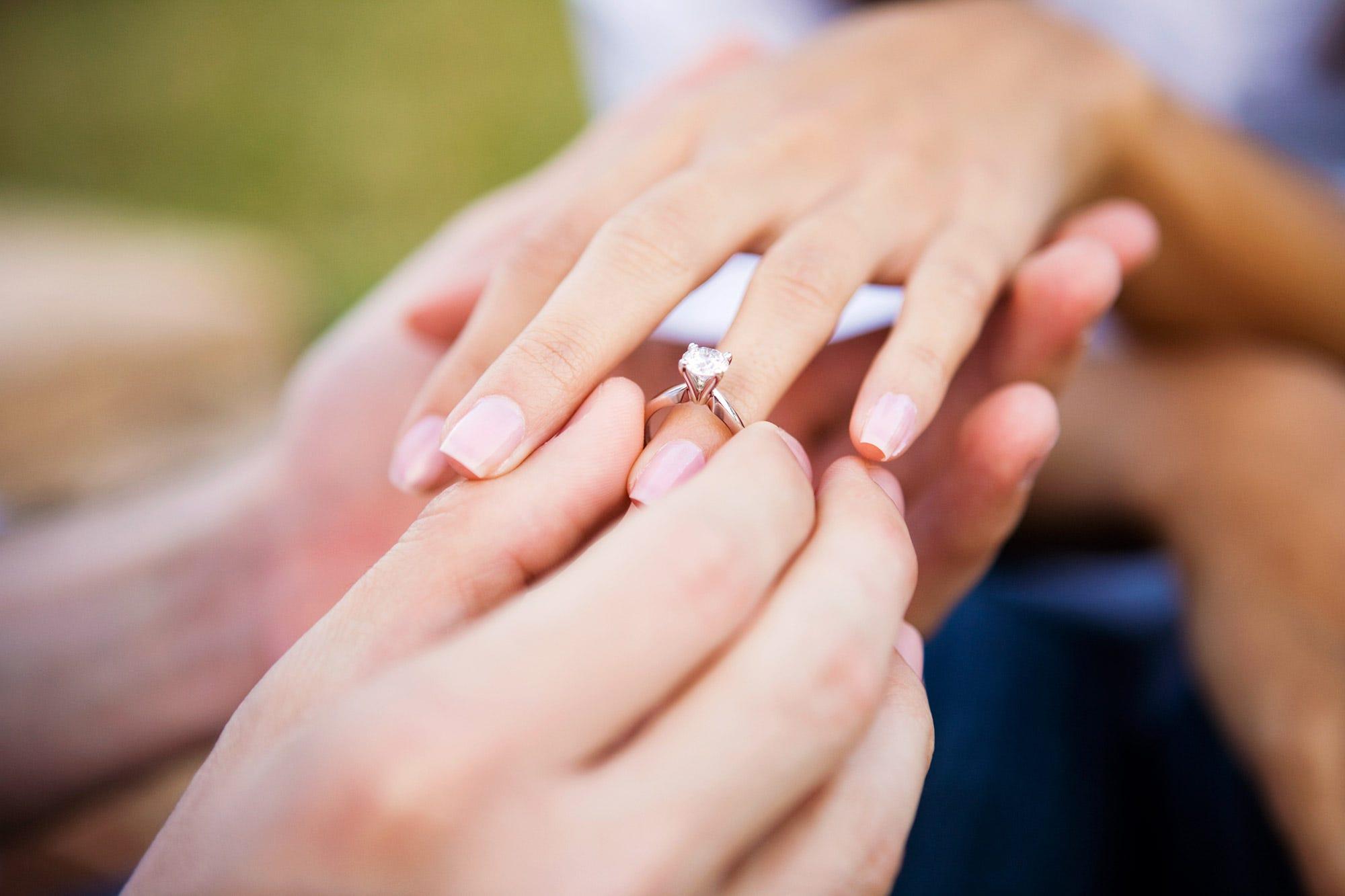 Beautiful Female Wedding Ring Finger | Wedding