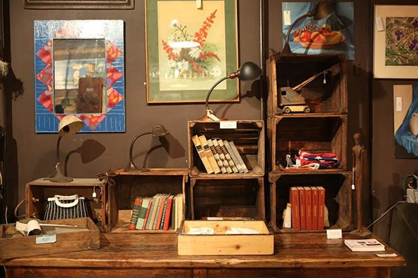 The Top NYC Spots For Vintage Decor Finds. Best Antique Furniture Stores   New York Vintage Shops