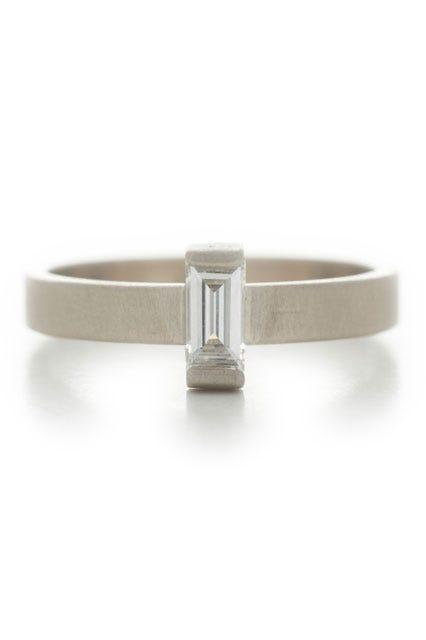 minimalist engagement rings that scream i do