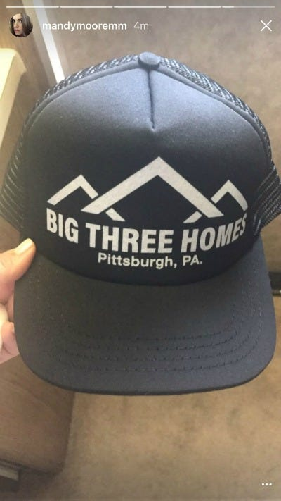 This Is Us Big Three Homes hat