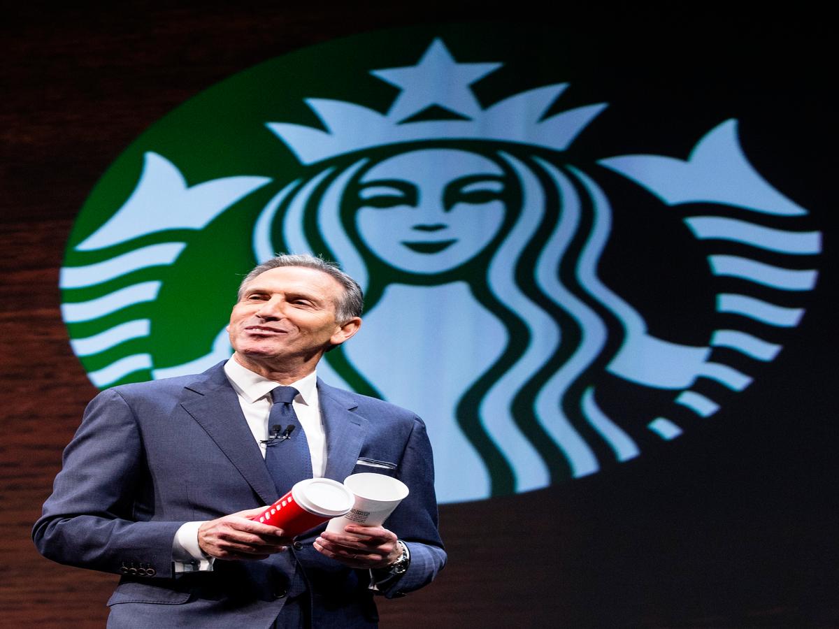 Howard Schultz, Starbucks CEO, Endorses Hillary Clinton