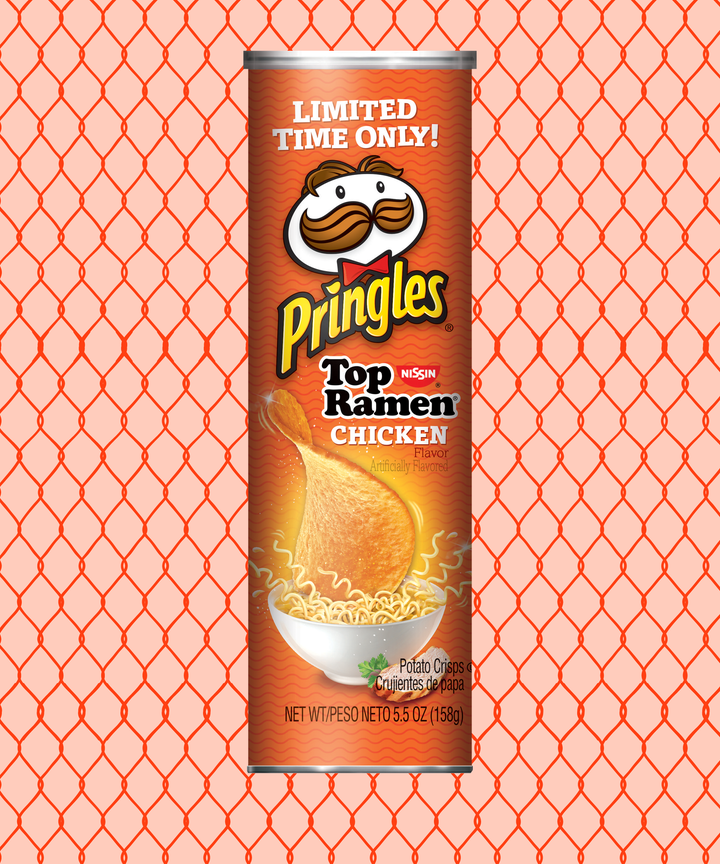 Take your tastebuds on a journey with Ramen-flavored Pringles
