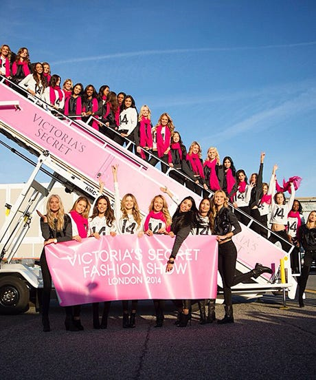 What It's Like Inside The Victoria's Secret Private Jet
