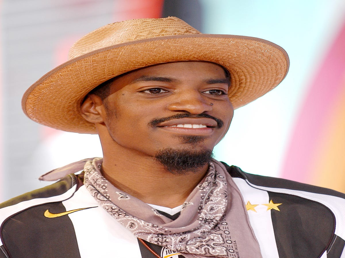 Why Haven't We Noticed Andre 3000 Loves Wearing Anita Baker T-Shirts?