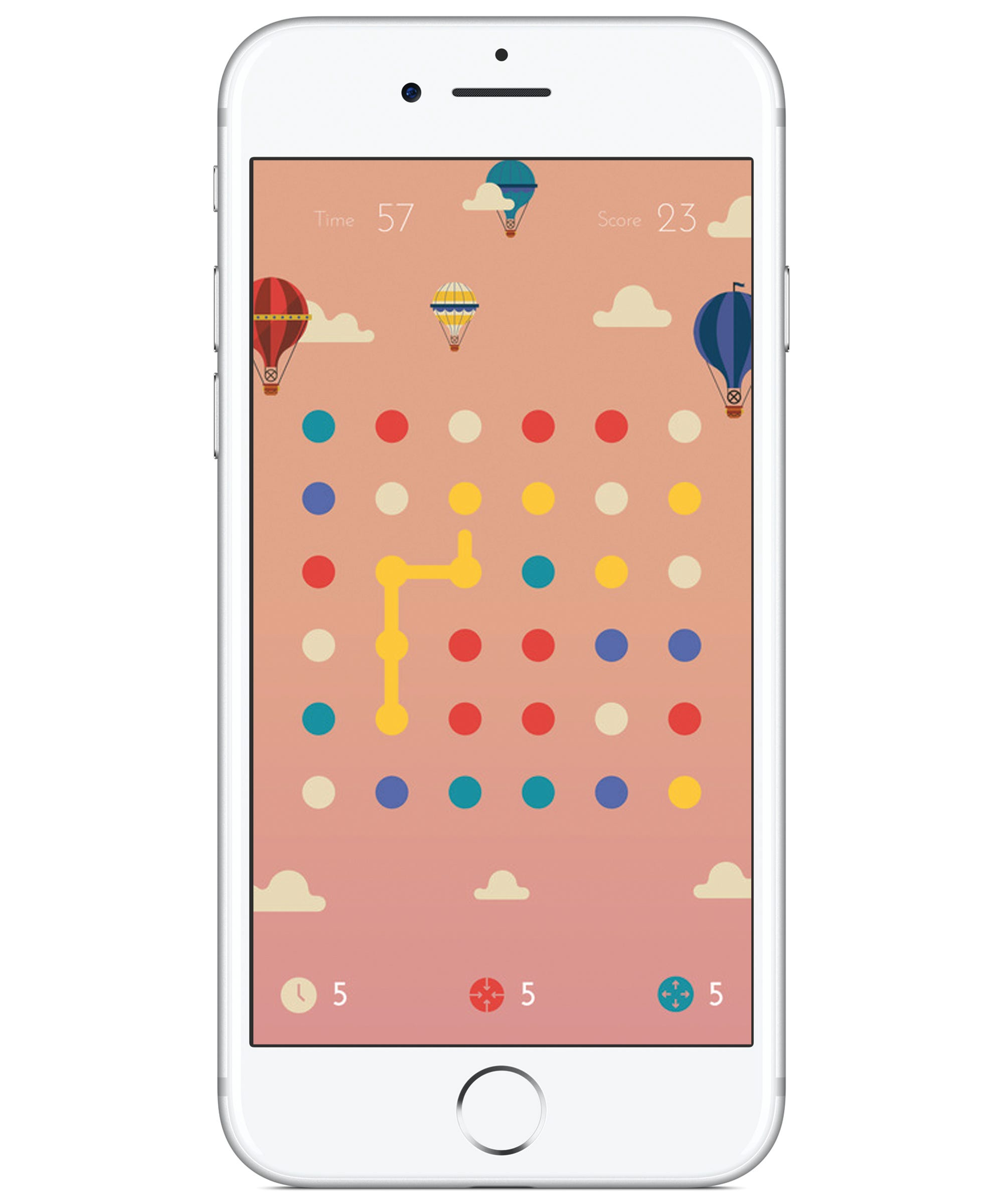 new wilds phone game dots app upgrade