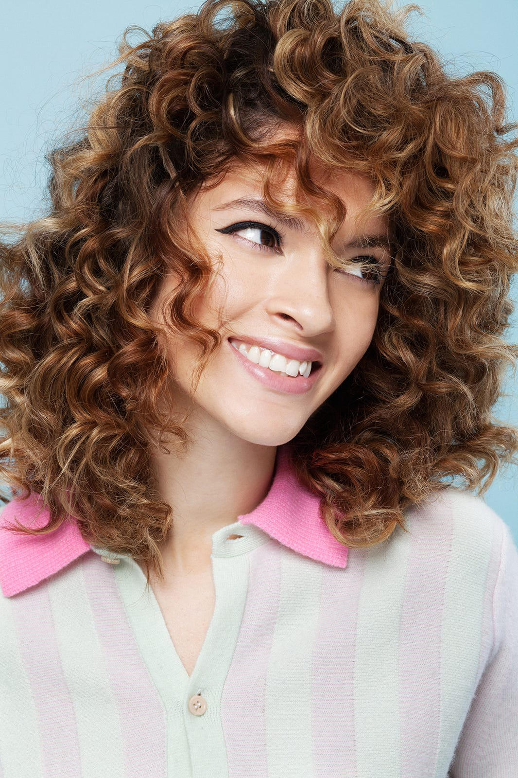 Astonishing How To Style Curly Hair Hairstyle Inspiration Daily Dogsangcom