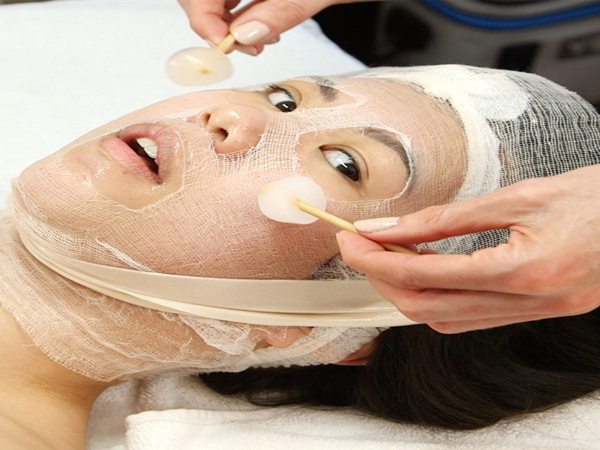 I Tried This Celeb Aesthetician s  Ice Facial  — & It Was Magical