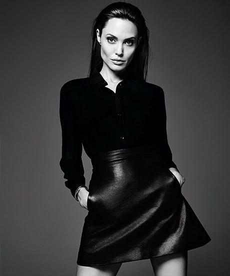Angelina Jolie Gives Us One Serious Pep Talk