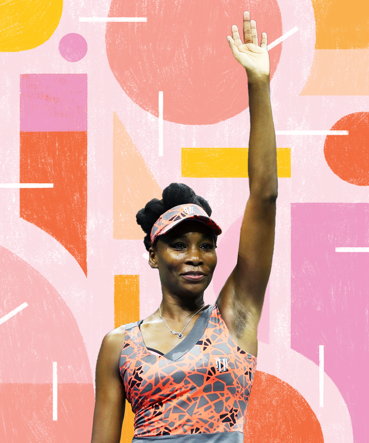 Venus Williams improves to 19-0 in US Open's first round