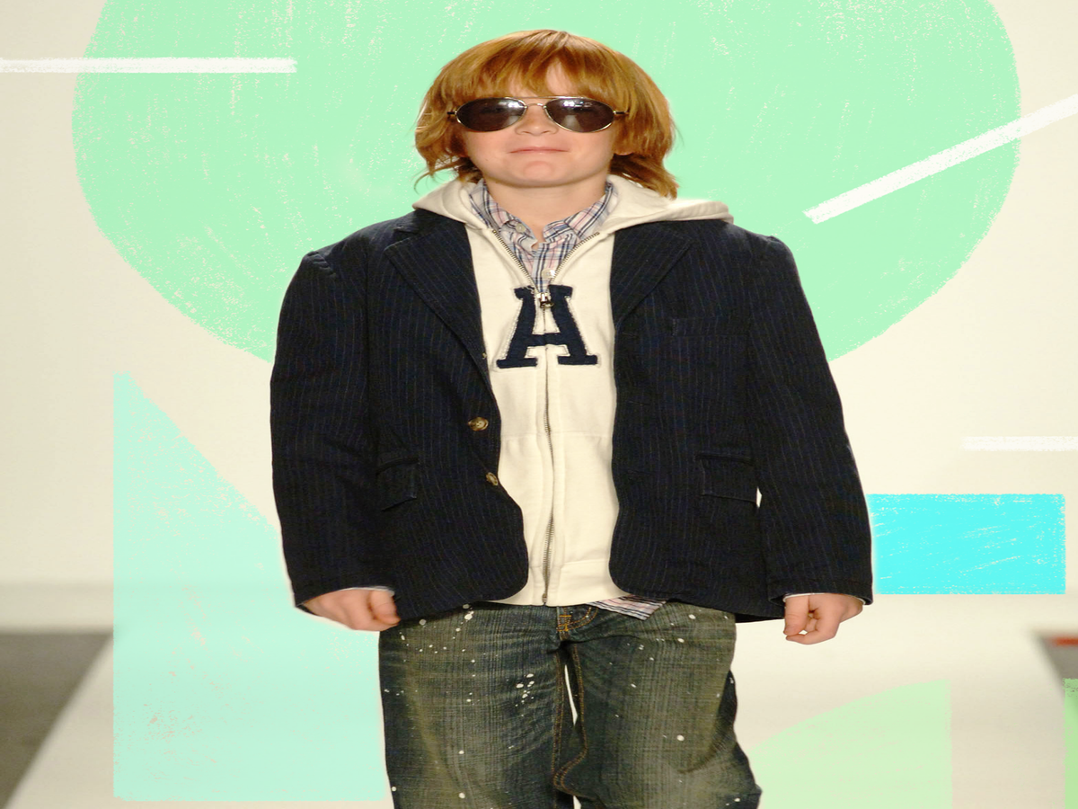 Lindsay Lohan's Baby Bro Is All Grown Up — & Modeling For Vogue China