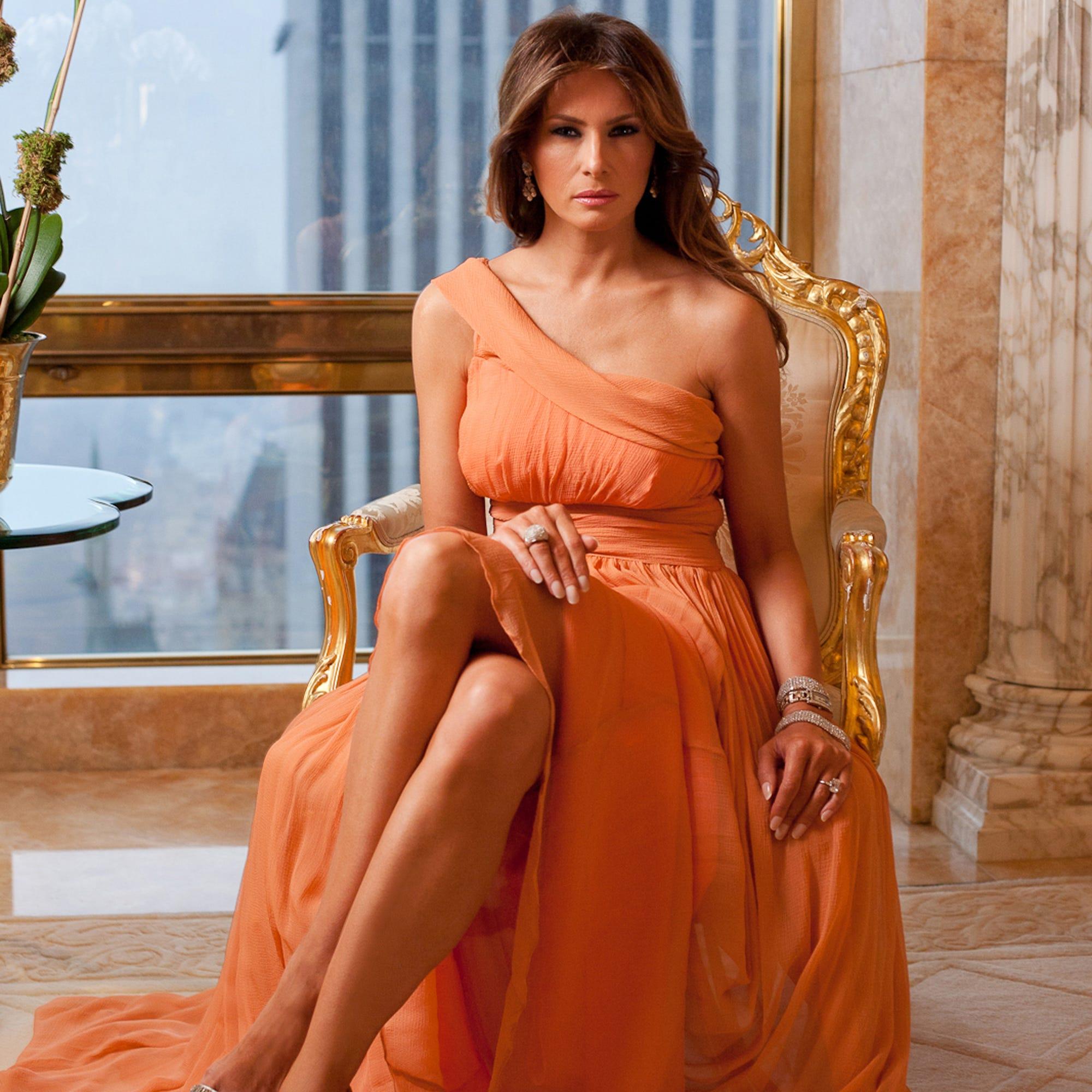 donald trump tower home tour melania trump interview - Melania Trump Wedding Ring