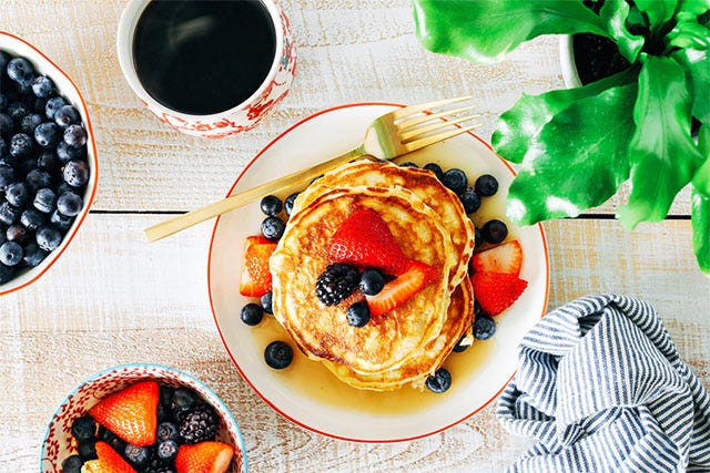 This Pancake Has A Secret Ingredient and It's Probably Already In Your Fridge