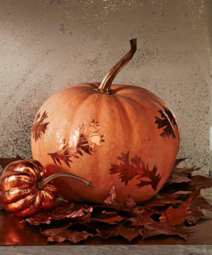 Pumpkin Painting Ideas - No Carve Halloween Decorating