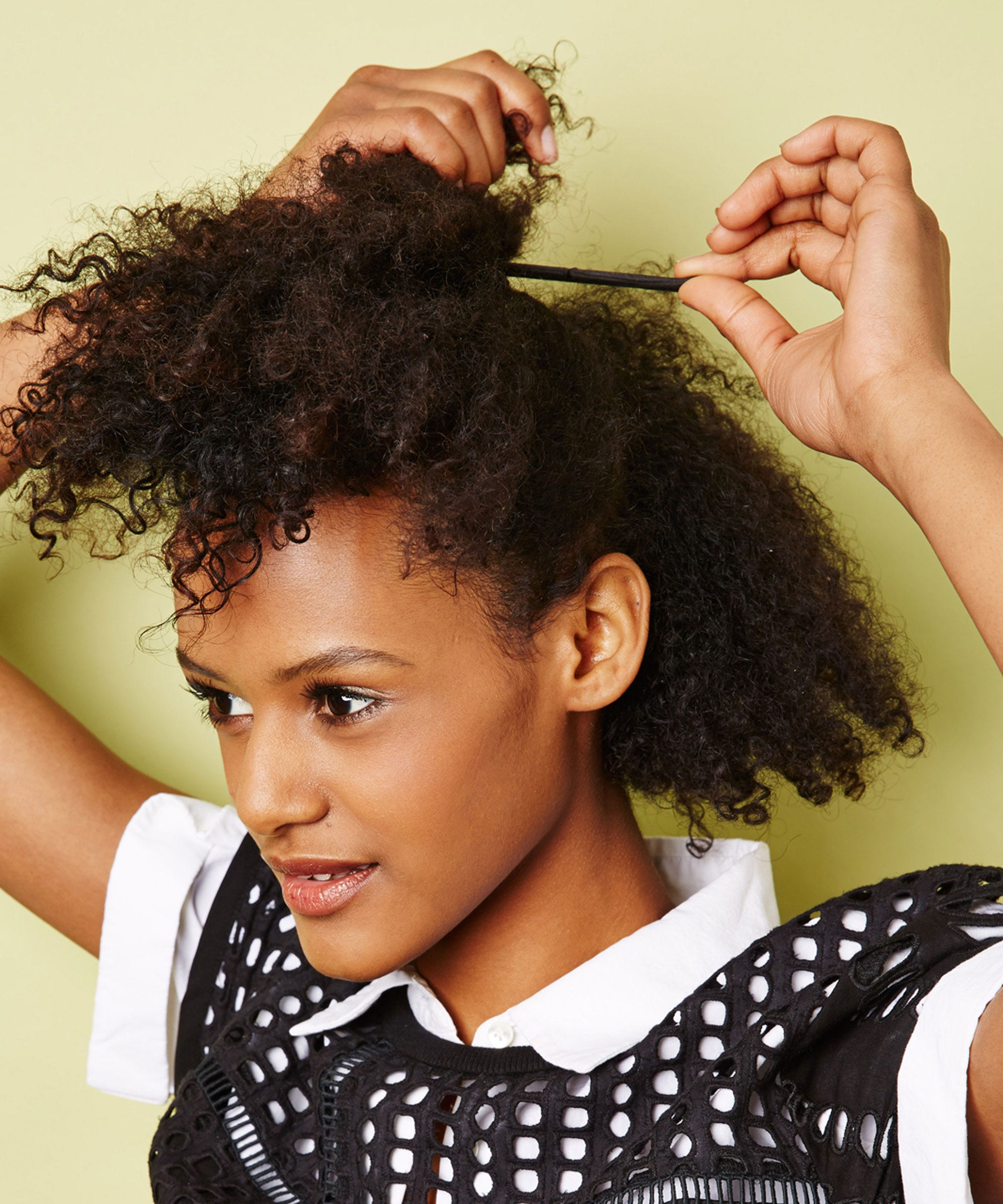 Stupendous Easy Natural Hairstyles For Transitioning Hair Hairstyle Inspiration Daily Dogsangcom