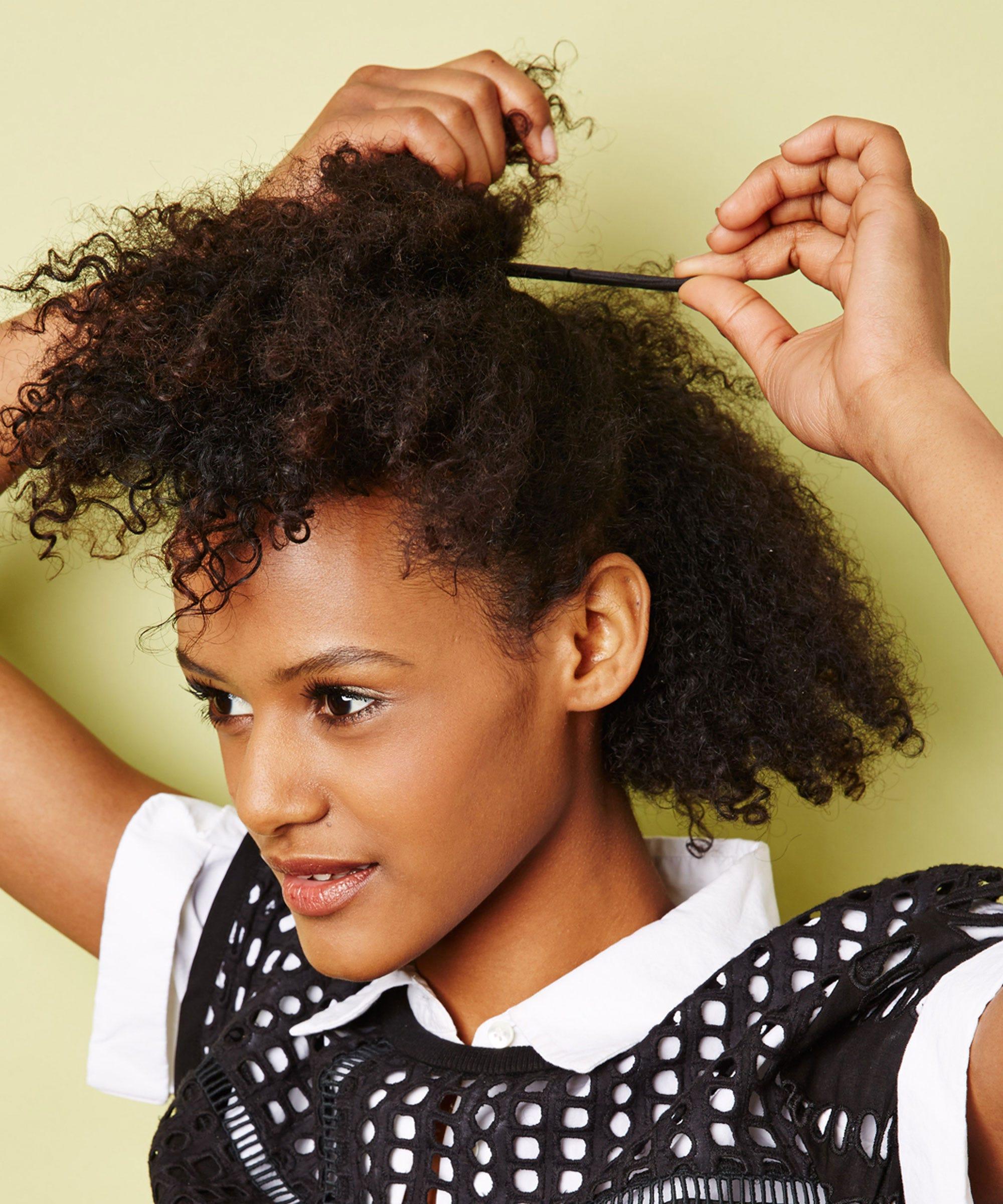 Wondrous Easy Natural Hairstyles For Transitioning Hair Short Hairstyles For Black Women Fulllsitofus