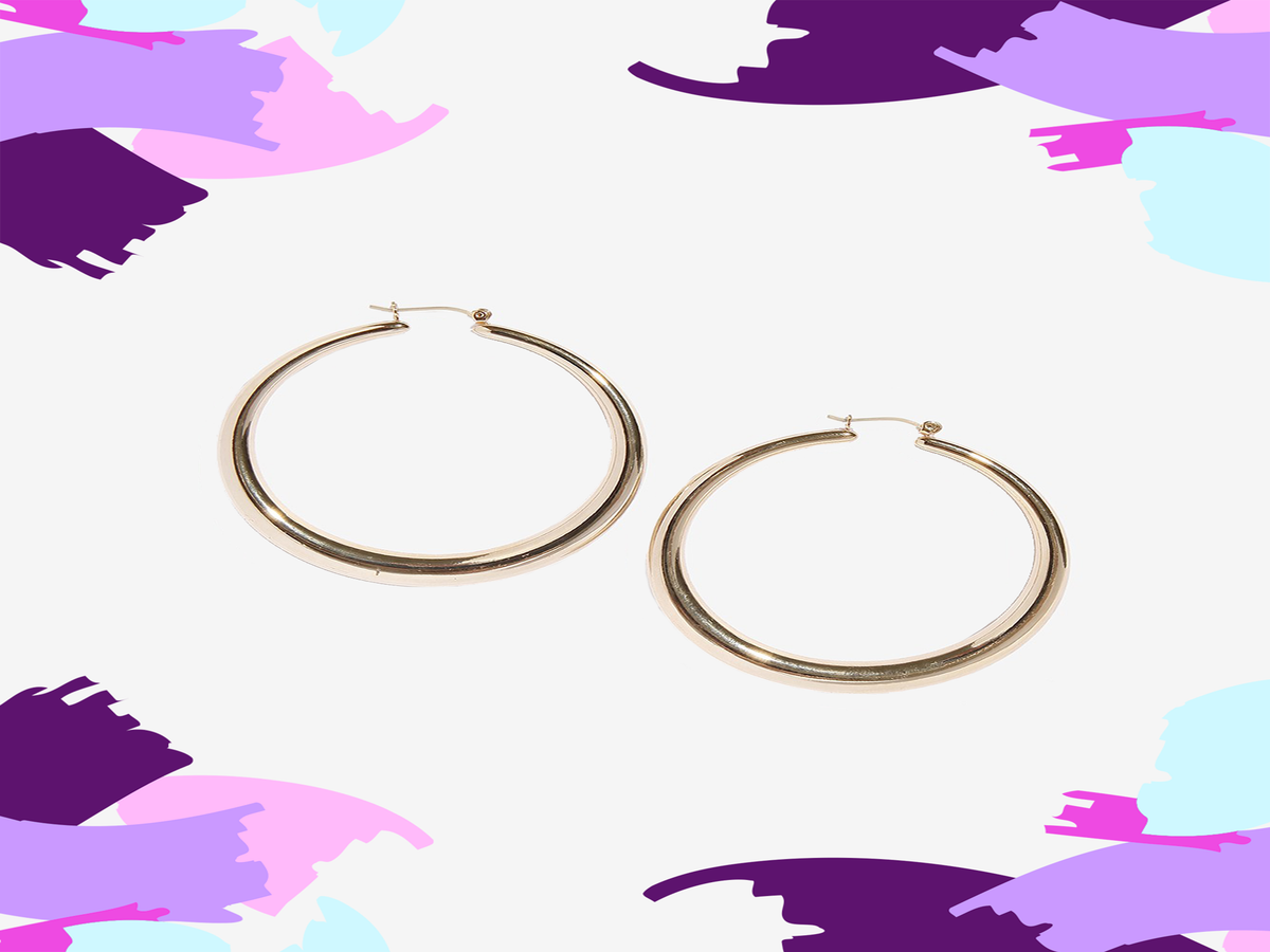 We Found The Perfect Gold Hoops — & They're Under $100