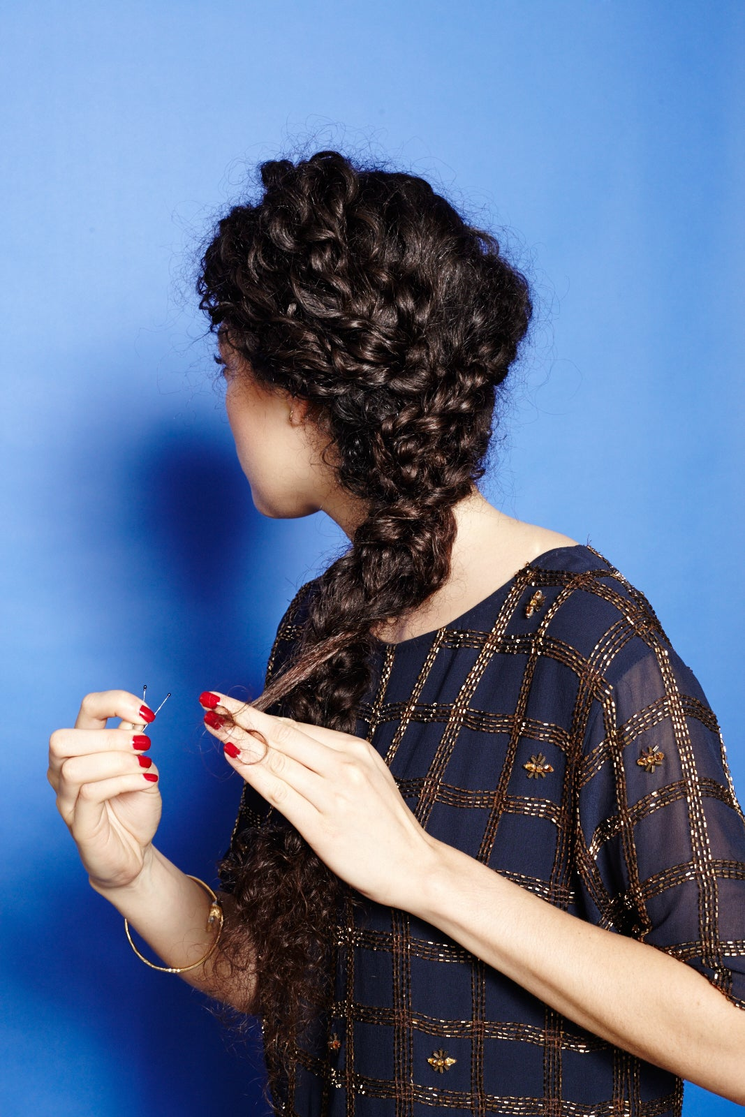 Enjoyable How To Braid Curly Hair Cute Plait Styles Hairstyle Inspiration Daily Dogsangcom