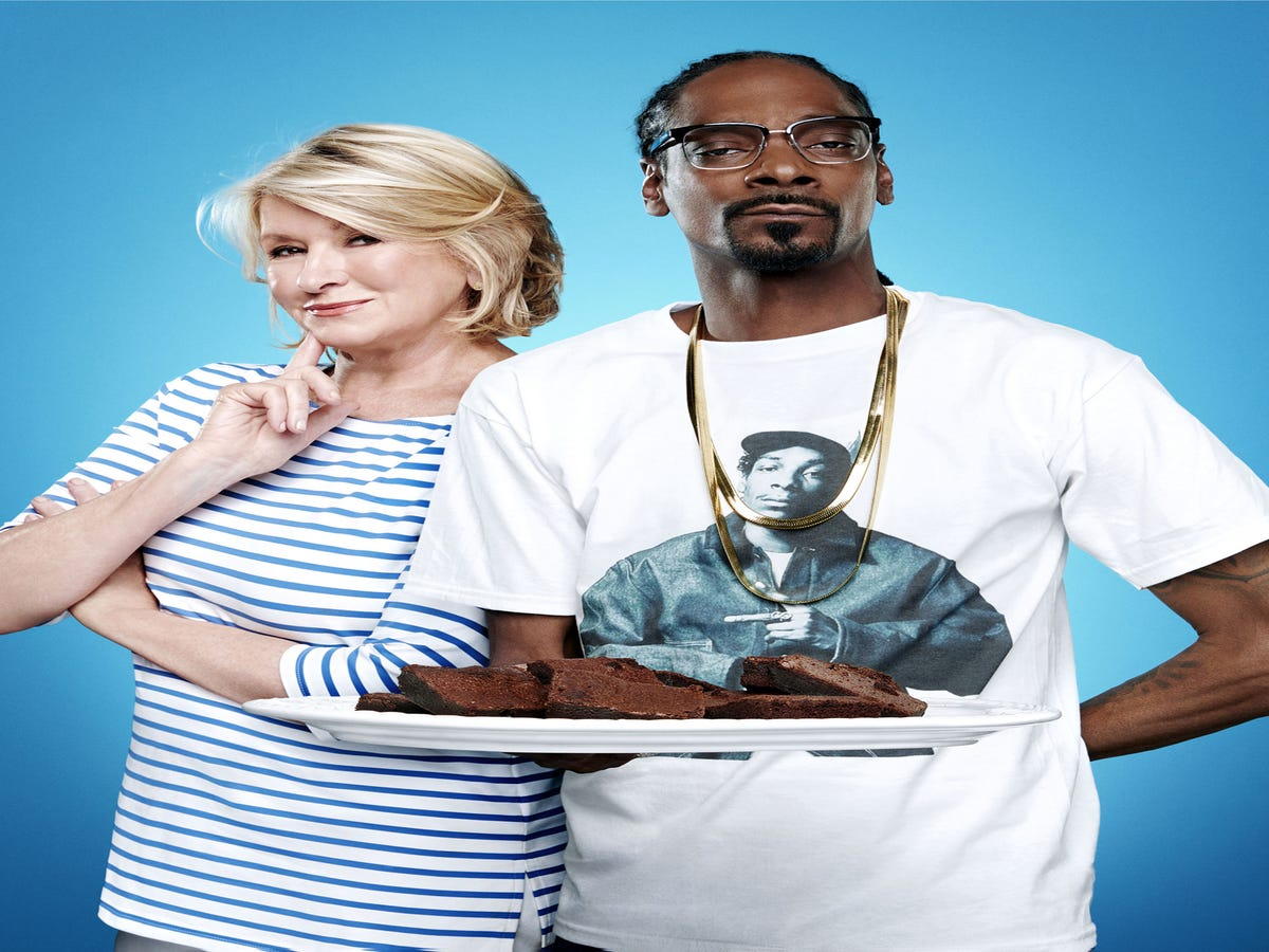 Martha Stewart & Snoop Dogg Are Getting  Fried  On Their New Show