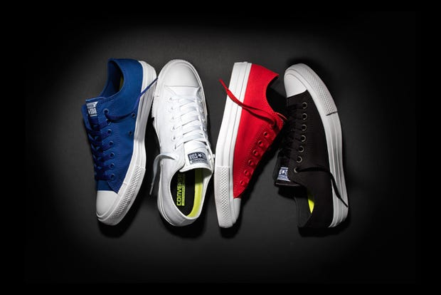 Converse Revamps Its Century-Old Chucks For The First Time Ever