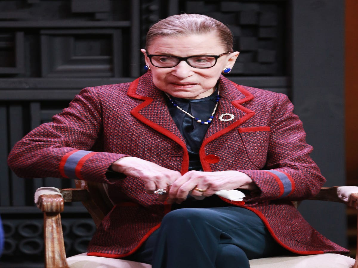Ruth Bader Ginsburg Is Not Here For Any #MeToo Backlash
